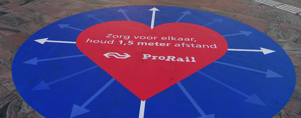 Prorail - houd afstand