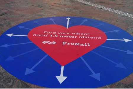 Prorail - păstrează-ți distanța