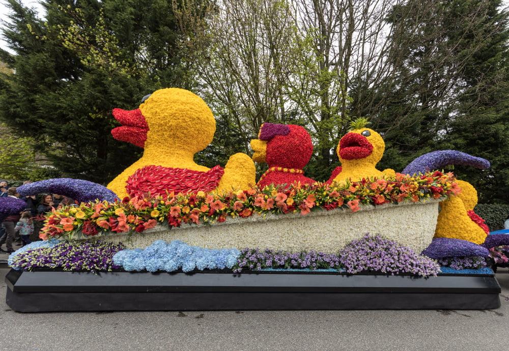 Blommeparade