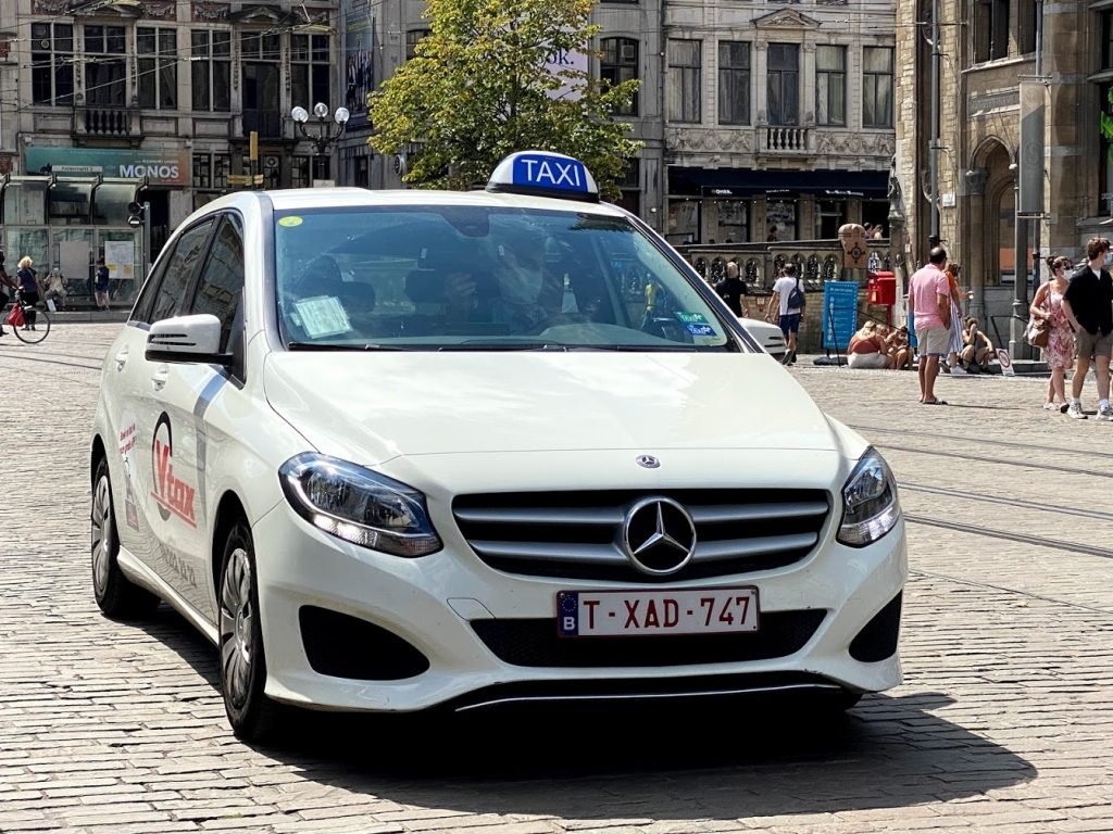 Taxi in Ghent